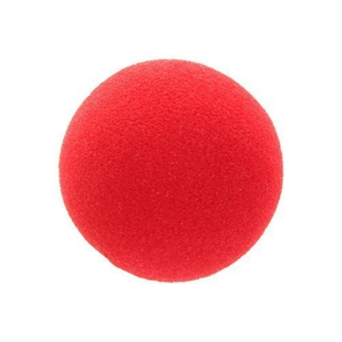 Unisex Fancy Dress Circus Clown Nose Sponge Red Nose New by Smiffys.