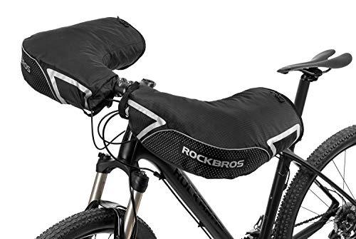 ROCKBROS Fahrrad-Lenker-Handschuhe, extrem kaltes Wetter, Mountainbike, Fat Bike Bar Covers Cyclist Pogies Fäustlinge