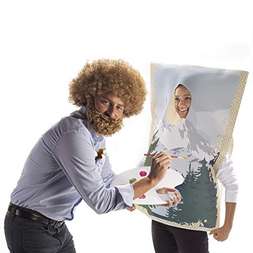 80s Painter & Painting Halloween Couples' Costume - 2-Pack Funny, Cute Theme