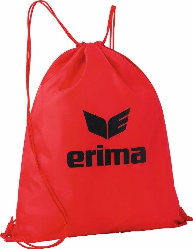 erima Turnbeutel, rot/schwarz, One size, 10 Liter, 723351