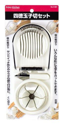 パール金属(PEARL LIFE) ENJOY KITCHEN『四徳玉子切セット(C-4821)』