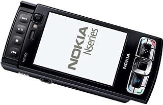 هاتف نوكيا N95-4 8 جيجابايت غير مقفل مع كاميرا 5 ميجابيكسل، الجيل الثالث، واي فاي، جي بي اس، مشغل ميديا بلاي-يو اس الإصدار...