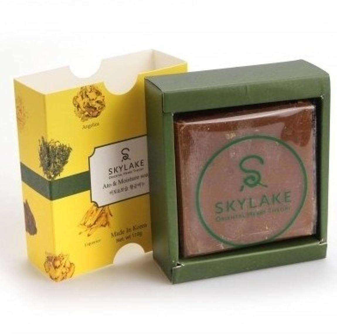 脱走インカ帝国革命[1+1]ハヌルホス[Skylake] 漢方アロマ石鹸Oriental Herbs Theory Soap (アト?保湿用)