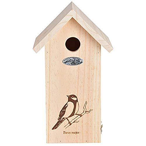 Esschert Design NK66 vogelhuisje met koolbeitellijn, tekenen.