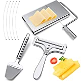 3 Pieces Stainless Steel Wire Cheese Slicer Adjustable Thickness...