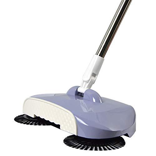 Sweeping machine hand duwen luie schoonmaken vegen twee-in-één bezem set thuis veegmachine 1# E