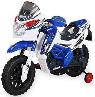 Actionbikes Motors Kinder Elektromotorrad J518 Kinderfahrzeug Elektro Motorrad Spielzeug für Kinder (Blau)