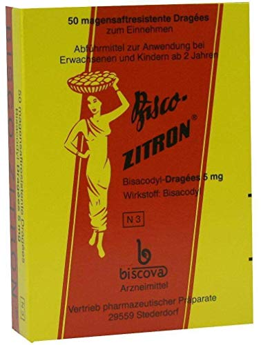 BISCO ZITRON Dragees 50 St