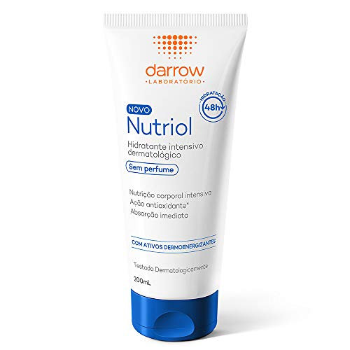 Nutriol Hidratante Intensivo Dermatológico. sem perfume, Darrow - 200ml, Darrow, 200ml