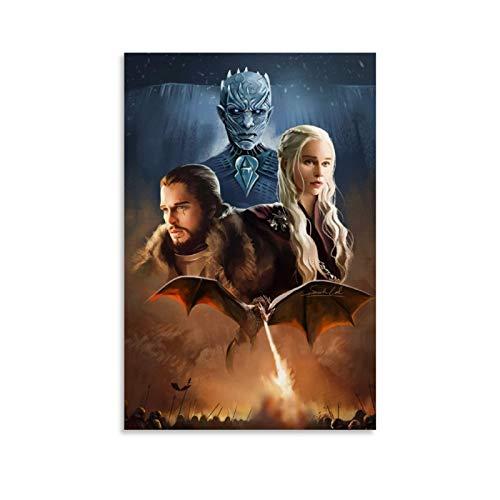 DSGFR Juego de Tronos 1 Maravilloso póster de la serie de TV de 30 x 45 cm