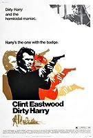 ダーティハリー–クリントイーストウッド–米国輸入映画ウォールポスター印刷– 30CM X 43CM