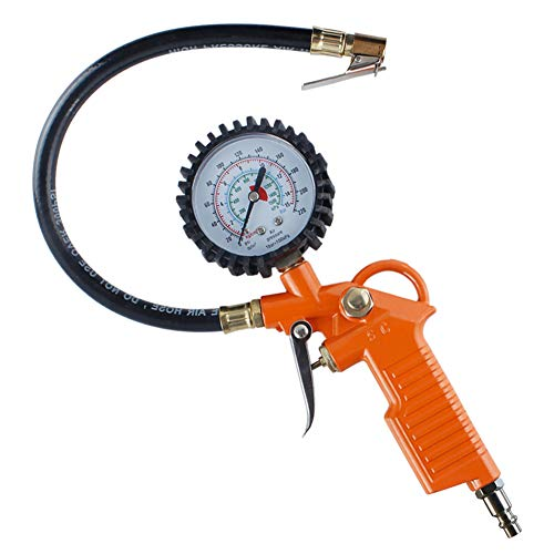 Why Should You Buy Tire Inflator Pressure Gauge with Hose and Quick Connect Plug-220psi