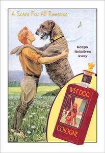 Buyenlarge Wet Dog Cologne: A Scent for All Reasons Fine Art Canvas Print (20