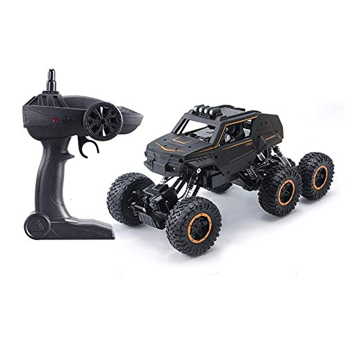 Moerc Gran control remoto coche 6-rueda RC Monster Truck Electric 6WD Racing Vehicle Juguete con tecnología de 2.4GHz 1:12 Vehículos de escalada en carretera para niños y adultos Pasatiempos para niño