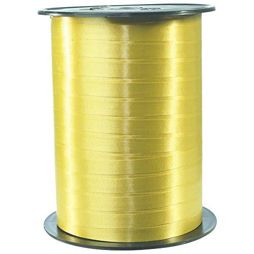 Une bobine de Bolduc couleur or