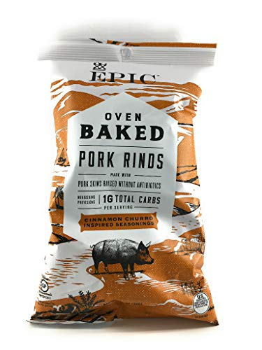 EPIC PROVISIONS Cinnamon Baked Pork Rinds, 2.5 OZ