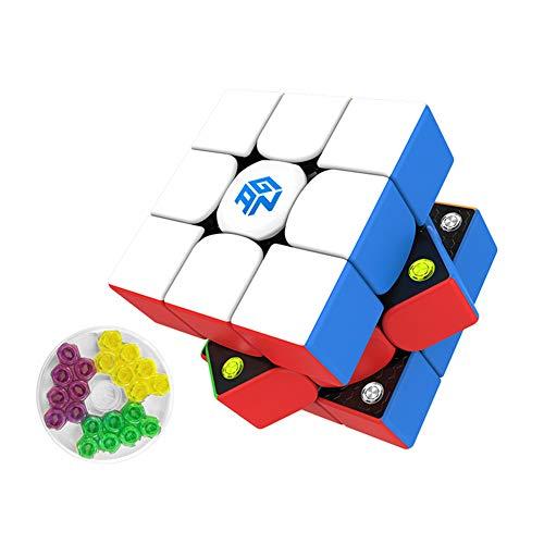 YING Tercer Orden GAN 356 M Speed Cube 3x3x3 Parche Mate 4 Distancia Entre Ejes Professional Competition Puzzle Cube (Edición estándar)