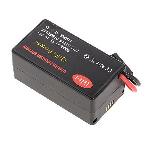 Goolsky 11.1V 2000mAh 20C LiPo batería para Parrot AR.Drone 1.0 2.0 Quadcopter