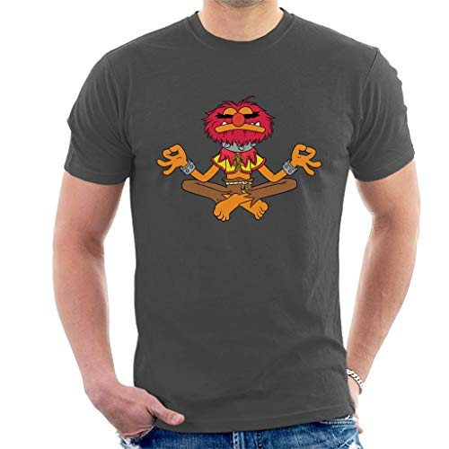 Disney Classic The Muppets Animal Total Zen Men's T-Shirt