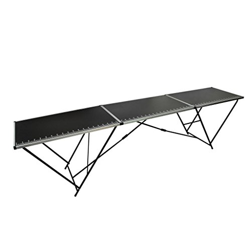 WEILANDEAL boxspring tafel van aluminium en staal, uitgekiende afmetingen: 300 x 60 x 78 cm