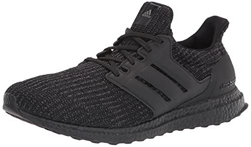 adidas Men's Ultraboost 4.0 DNA Trail Running Shoe, Black/Black/Grey, 11