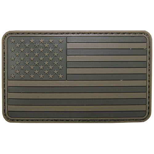 Parche de velcro, Estados Unidos, Color, 3D, tamaño: 8 x 5 cm