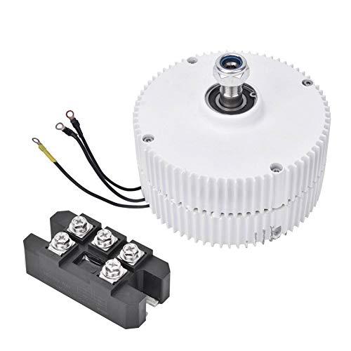 NE-300 750r/m 300W 12V o 24V Generador de imanes permanentes Alternador trifásico para turbina eólica Generador síncrono 300W((Generador 12V + Rectificador))