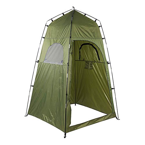 Ponacat Duschzelt Pop-Up Pod Umkleidekabine Tragbares Sichtschutzzelt Instant-Toilette für Camping Regenschutz für Outdoor & Strand Leicht Einfach Einzurichten Faltbar