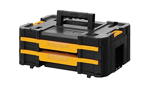 Dewalt DWST1-70706 T STAK-Box IV gereedschapskist met dubbele schuifladen (met uitneembare binnendelen)