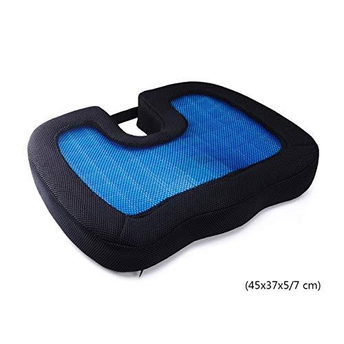 Olie-gel orthopedisch geheugenkussen schuim U-stuitbeen reisstoel massage auto bureaustoel bescherm gezond zitten ademende kussens één maat 8