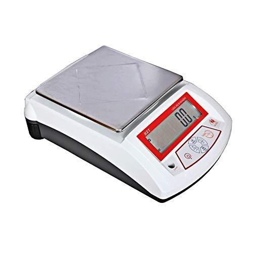 YZSHOUSE Alta Precisión 0.01g Electrónico Balanzas Digitales De Cocina, Analítico Contando Balanza Electrónica con Pantalla LCD, 14 Unidades, Joyería Comida Escalas (Size : 6kg/0.1g)