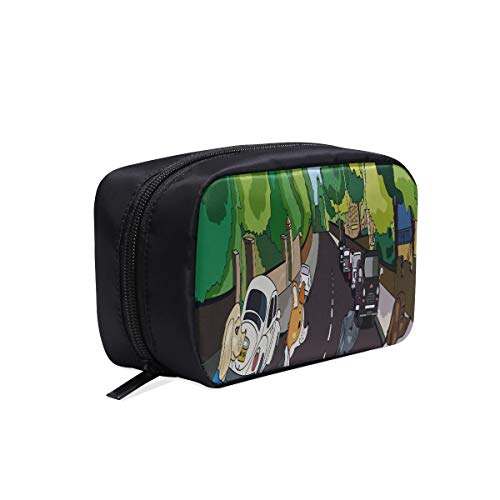 Bolsa de viaje divertida Abanicos elegantes Cachorro de perro Abbey Road Bolsas...