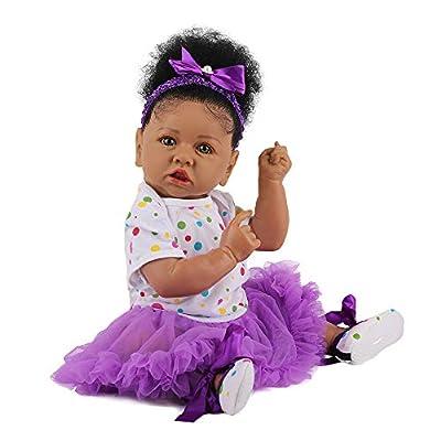 Amazon Promo Code Lifelike Reborn Baby Dolls with Soft Body African 09072021011423