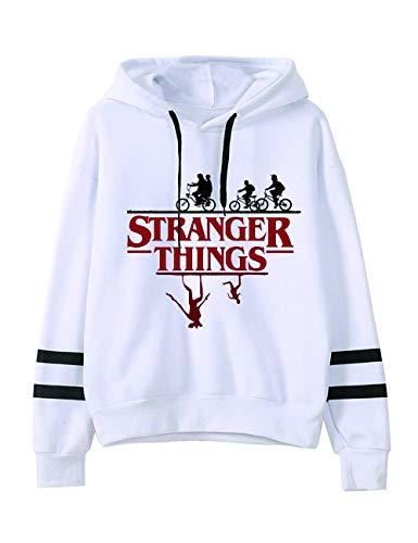 Pull Stranger Things Ado, Sweat-Shirt Stranger Things Femme Ado Fille Friends Dont Lie Sport Sweat a Capuche Autumn Sweat Shirt Hoodie Sweatshirt Fan de Stranger Things (4,M)