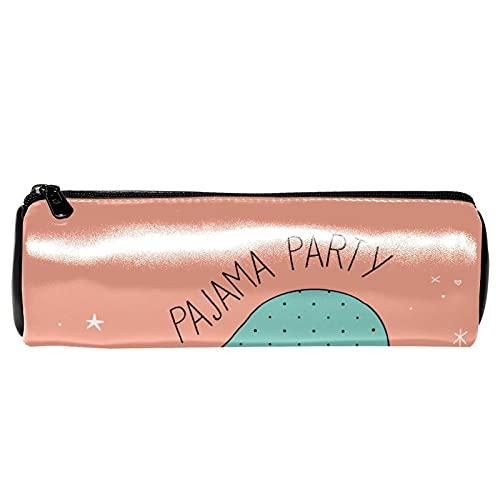 Niedliches Faultier-Pyjama-Party-Federmäppchen, Schreibwaren-Tasche, Organizer, Kosmetiktasche für Schule, Teenager, Mädchen, Jungen, Männer, Frauen