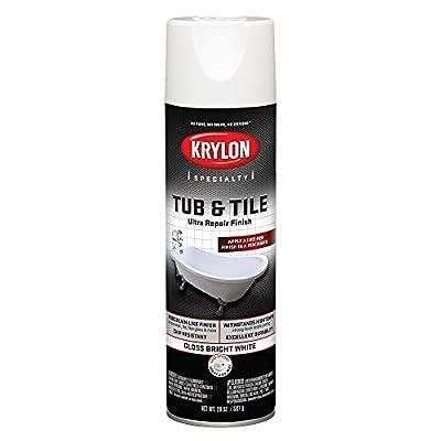 Krylon K04501007 Tub & Tile Ultra Repair Finish Paint Kit