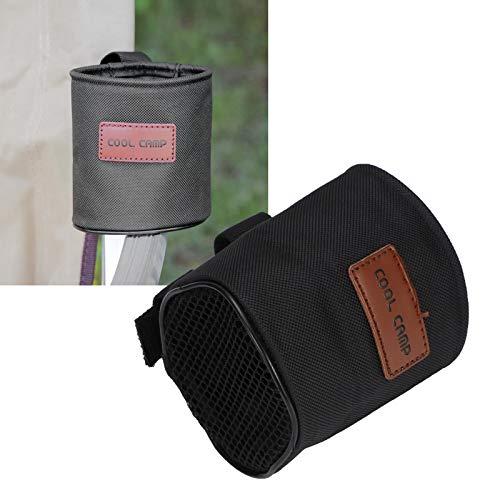 Zwinner Portavasos de Pesca, portabotellas, portavasos Lateral para sillas, fácil de Transportar, tamaño pequeño, para los Amantes de la Pesca Que acampan
