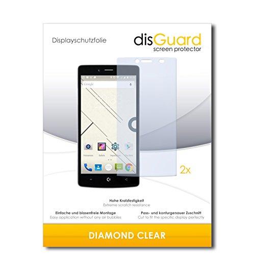 disGuard 2 x Bildschirmschutzfolie Commodore PET Schutzfolie Folie DiamondClear unsichtbar