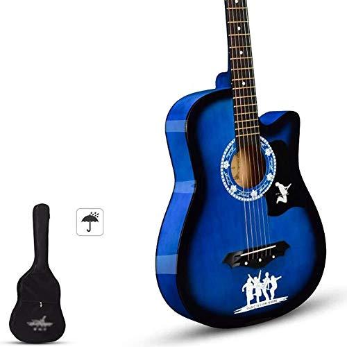 Guitarra eléctrica Kit de guitarra acústica hecha a mano for principiantes con...