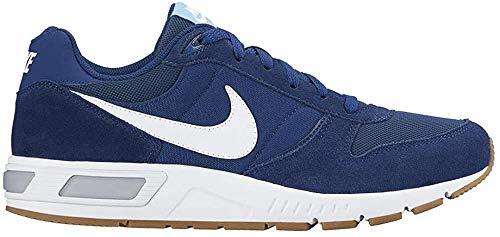 Nike Herren Nightgazer Laufschuhe, Blau (Coastal Blue/White-Bluecap), 38.5 EU