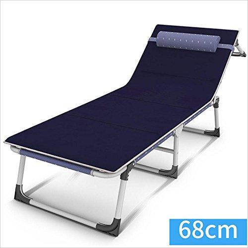 Xiaolin Chaise de Camping en Plein air Chaise de pêche inclinable Balcon déjeuner Pause Chaise Chaise âgée Pliable (Couleur : 02)