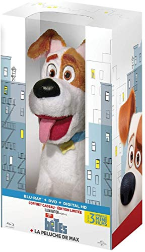 Comme des Bêtes / The Secret Life of Pets plus Max The Fluffy Toy (Blu-Ray & DVD Combo) (Blu-Ray)