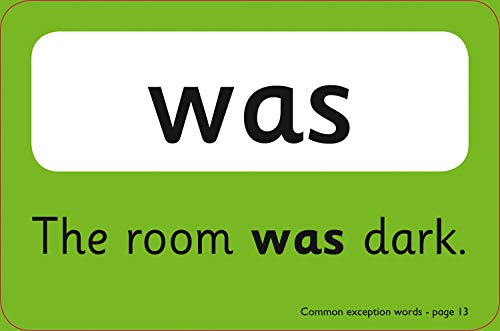Common Exception Words Flashcards: KS1 English Home Learning and School Resources from the Publisher of Revision Practice Guides, Workbooks, and Activities. (Collins Easy Learning KS1)