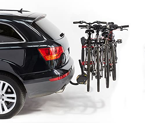 Mottez - Portabicicletas para 4 bicicletas