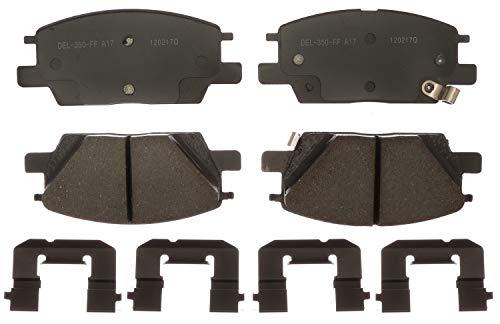ACDelco Gold 17D1913CH Ceramic Front Disc Brake Pad Set