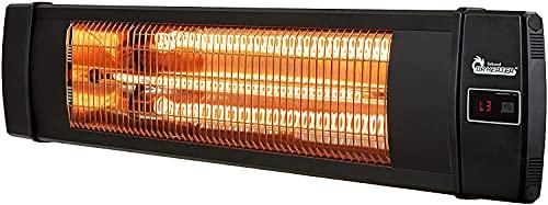 Dr Infrared Heater DR-238 Carbon Infrared Heater, Standard, Black, New