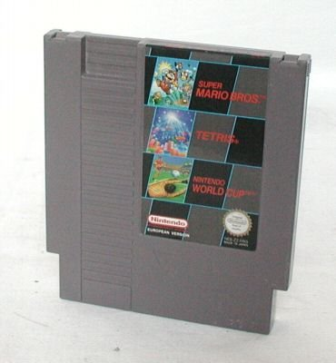 Super Mario Bros + Tetris + Nintendo World Cup [NES] - Nintendo Entertainment System