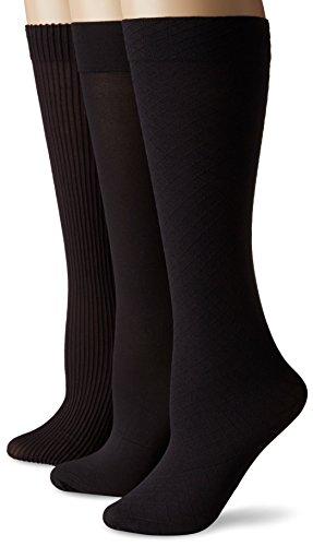 No Nonsense Women's Wardrobe Trouser Sock, Black, one size