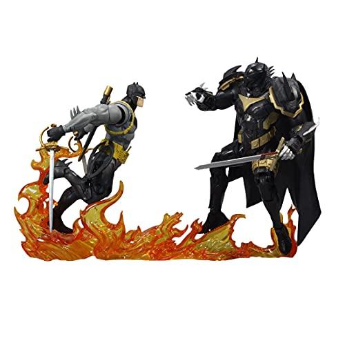 """McFarlane Toys DC Multiverse Batman vs Azrael (Batman Armor) 7"""" Action Figure Multipack with Accessories"""