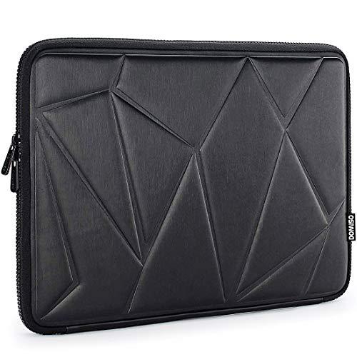 DOMISO Funda Protectora para ordinador portátil con Tableta Resistente a los Golpes de 9,7/10,1 Pulgadas Compatible coniPad 2018 Apple Pro 11' / 10,5' iPad Pro / 10 Pulgadas Surface Go, Negro